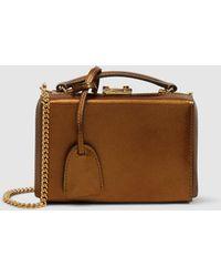 Mark Cross - Grace Mini Leather Box Bag - Lyst
