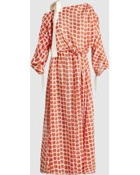 By. Bonnie Young - Regimented Rose Maxi Dress - Lyst