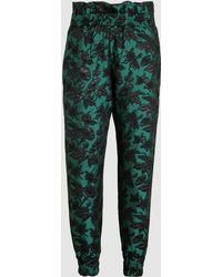 Mother Of Pearl - Rita Floral Jacquard Joggers - Lyst