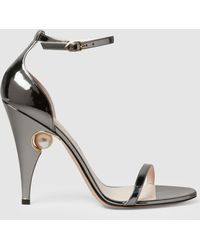 Nicholas Kirkwood - Penelope Pearl Detail Patent Leather Sandals - Lyst