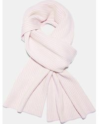 Theory - Ribbed Cashmere Oversized Scarf - Lyst