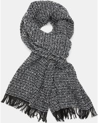 Theory - Boucle Novelty Scarf - Lyst