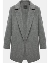 Theory - Double-faced Relaxed Jacket - Lyst