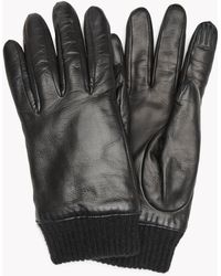 Theory - Gloves With Rib Knit - Lyst