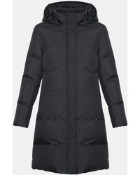Theory - Eco Hooded Puffer Coat - Lyst