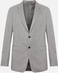Theory - Slim-fit Shirt With Point Collar - Lyst