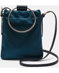 Theory - Mini Hoop Pouch In Satin - Lyst