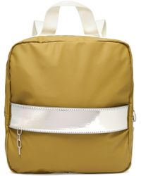 MM6 by Maison Martin Margiela | Metallic-trimmed Shell Backpack | Lyst