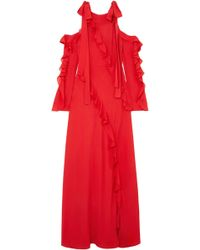 Elie Saab - Woman Gowns Red - Lyst