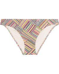 Eberjey - Deamweaver Printed Low-rise Bikini Briefs - Lyst