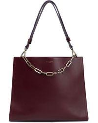 Emilio Pucci - Chain-trimmed Leather Shoulder Bag - Lyst