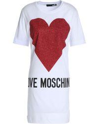 Love Moschino - Short Dresses - Lyst