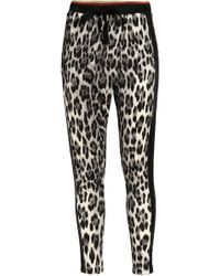 Roberto Cavalli - Track Trousers Animal Print - Lyst