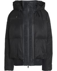 DKNY - Quilted Shell Hooded Down Jacket - Lyst