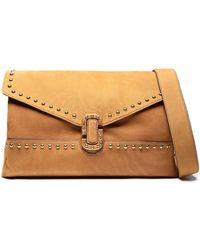 Marc Jacobs - Studded Suede Shoulder Bag - Lyst