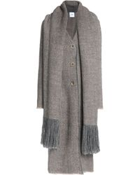 Agnona - Long Coat - Lyst