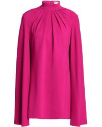 Emilio Pucci - Mini Dress In Pleated Crepe - Lyst