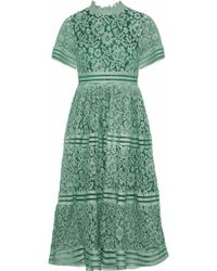 Raoul - Cotton Corded-lace Dress - Lyst