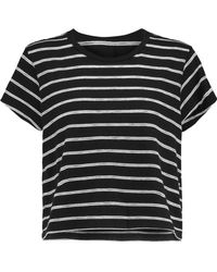 RE/DONE - + Hanes 1950s Striped Cotton-blend Jersey T-shirt - Lyst