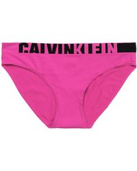 CALVIN KLEIN 205W39NYC - Mid-rise Two-tone Striped Cotton-jersey Briefs - Lyst