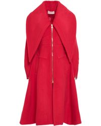 Antonio Berardi - Wool-blend Felt Coat - Lyst
