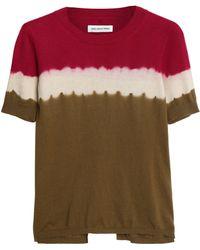 Étoile Isabel Marant - Tie-dyed Cotton And Cashmere-blend T-shirt - Lyst