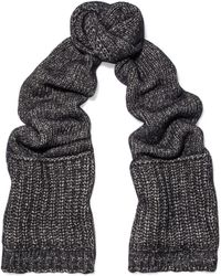 Sandro - Knitted Scarf - Lyst