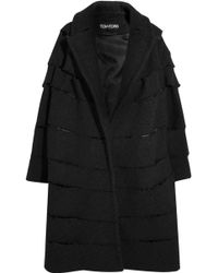 Tom Ford - Distressed Bouclé Coat - Lyst
