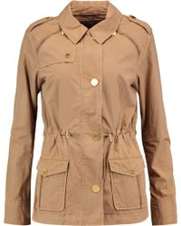 MICHAEL Michael Kors - Cotton-gabardine Coat - Lyst