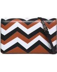 Missoni - Color-block Leather Shoulder Bag - Lyst