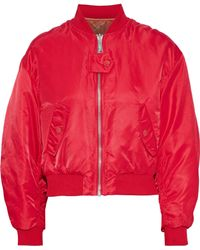 Maje - + Schott Brooklyn Reversible Shell Bomber Jacket - Lyst