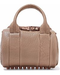 Alexander Wang - Rockie Textured-leather Tote - Lyst