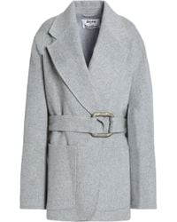 Acne Studios - Brushed Wool And Cashmere-blend Jacket - Lyst