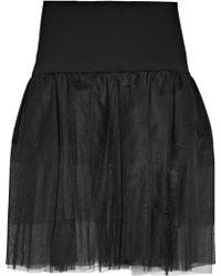 OSMAN | Pleated Tulle Skirt | Lyst