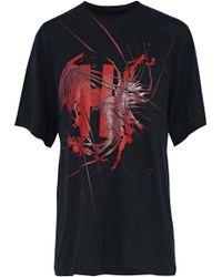 Haider Ackermann - Awuna Printed Cotton-jersey T-shirt - Lyst