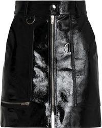 Isabel Marant - Patent-leather Mini Skirt - Lyst