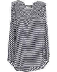 Joie - Kotahi Striped Crepe Top - Lyst