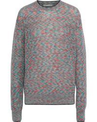 Christopher Kane - Mélange Mohair-blend Sweater - Lyst