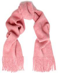 Rag & Bone - Ribbed Wool-blend Scarf - Lyst