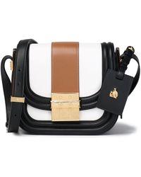 Lanvin - Color-block Leather Shoulder Bag - Lyst