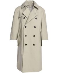 Marni - Double-breasted Cotton-blend Trench Coat - Lyst