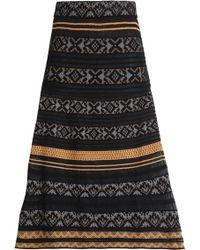 M Missoni - Jacquard-knit Skirt - Lyst