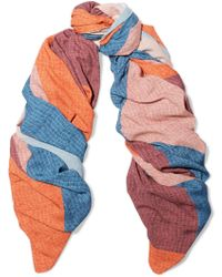 ViX - Ananda Printed Knitted Scarf - Lyst