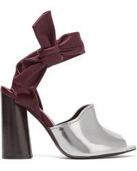 3.1 Phillip Lim - Kyoto Leather Sandals - Lyst