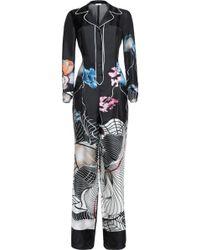 Vionnet | Printed Silk-satin Jumpsuit | Lyst