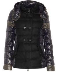 Duvetica - Calinitide Panelled Twill And Quilted Shell Down Hooded Coat - Lyst