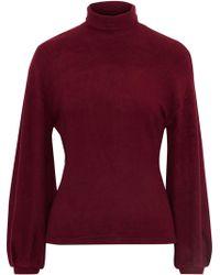 W118 by Walter Baker - Brushed Fleece Turtleneck Sweater - Lyst
