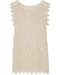 Eberjey - Souq Spice Amina Crocheted Cotton Coverup - Lyst