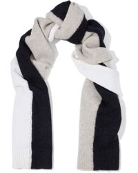Rag & Bone - Color-block Wool-blend Scarf - Lyst