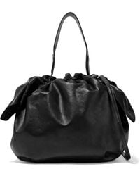 Simone Rocha - Bow-detailed Leather Shoulder Bag - Lyst